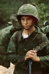 a-young-private-waits-on-the-beach-during-the-marine-landing-at-da-nang-vietnam-august-3-1965